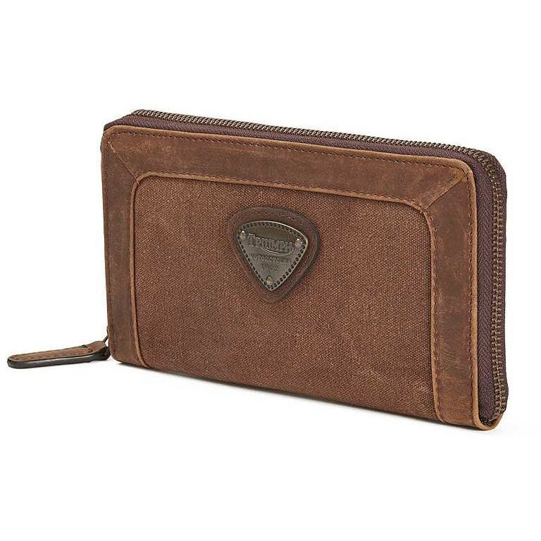 Triumph Canvas Travel Wallet