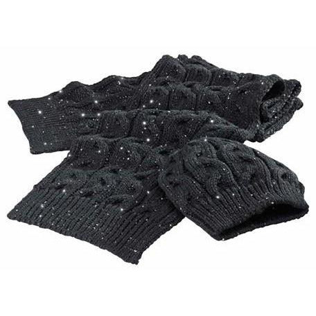 Triumph Ladies Knitted Sequin Hat & Scarf Set