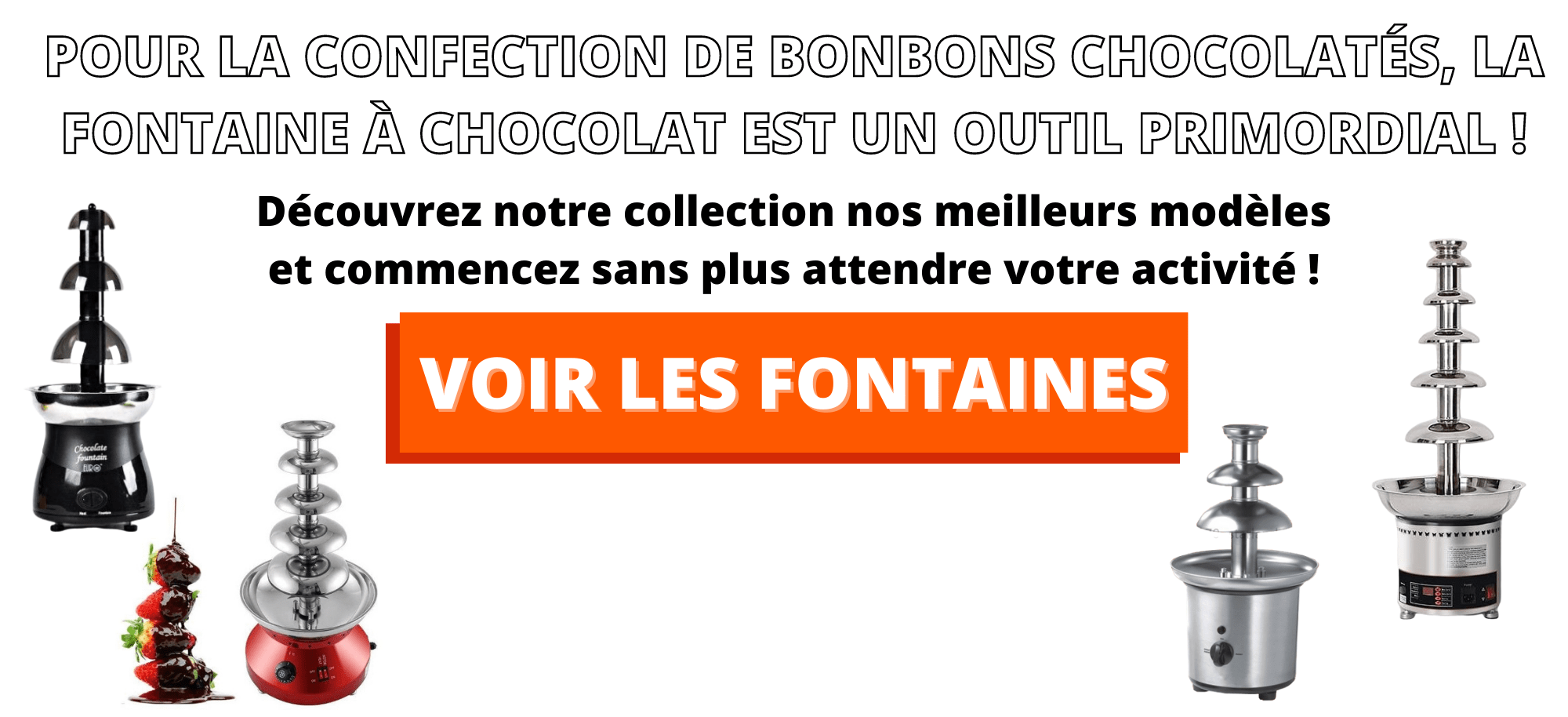 fontaine a chocolat professionnelle