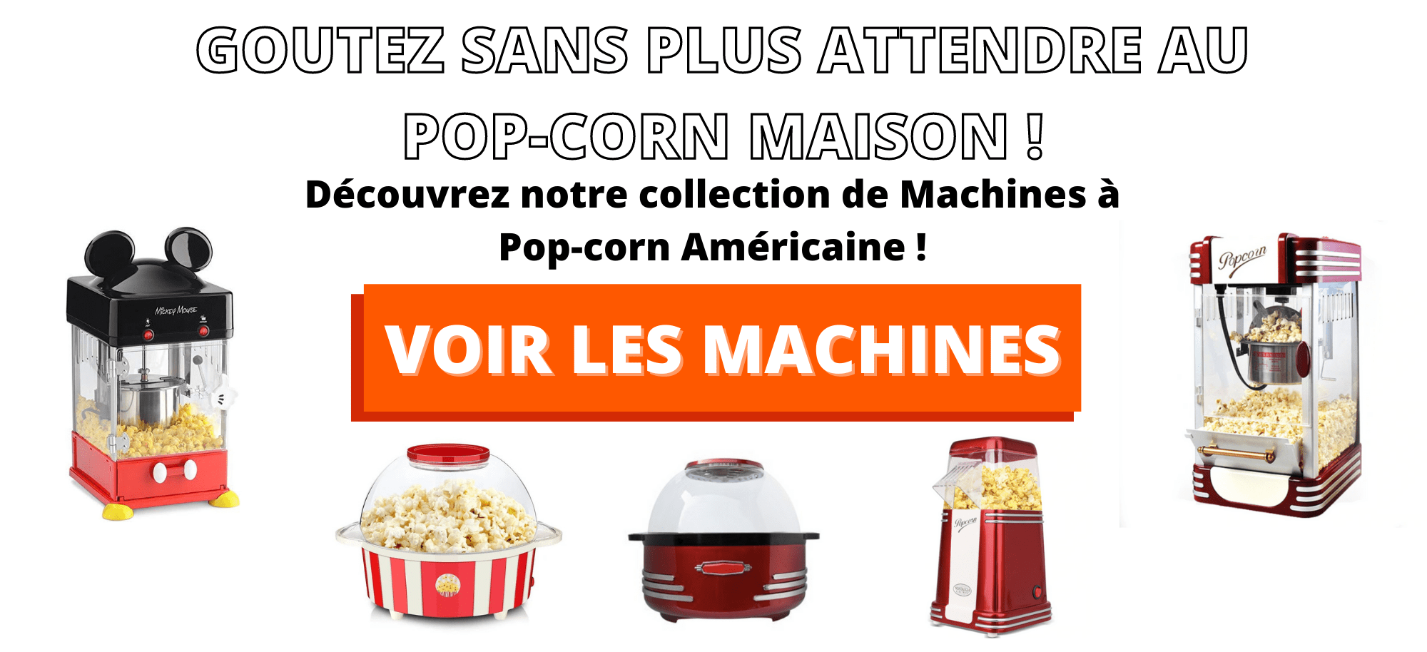 machine à pop-corn américaine