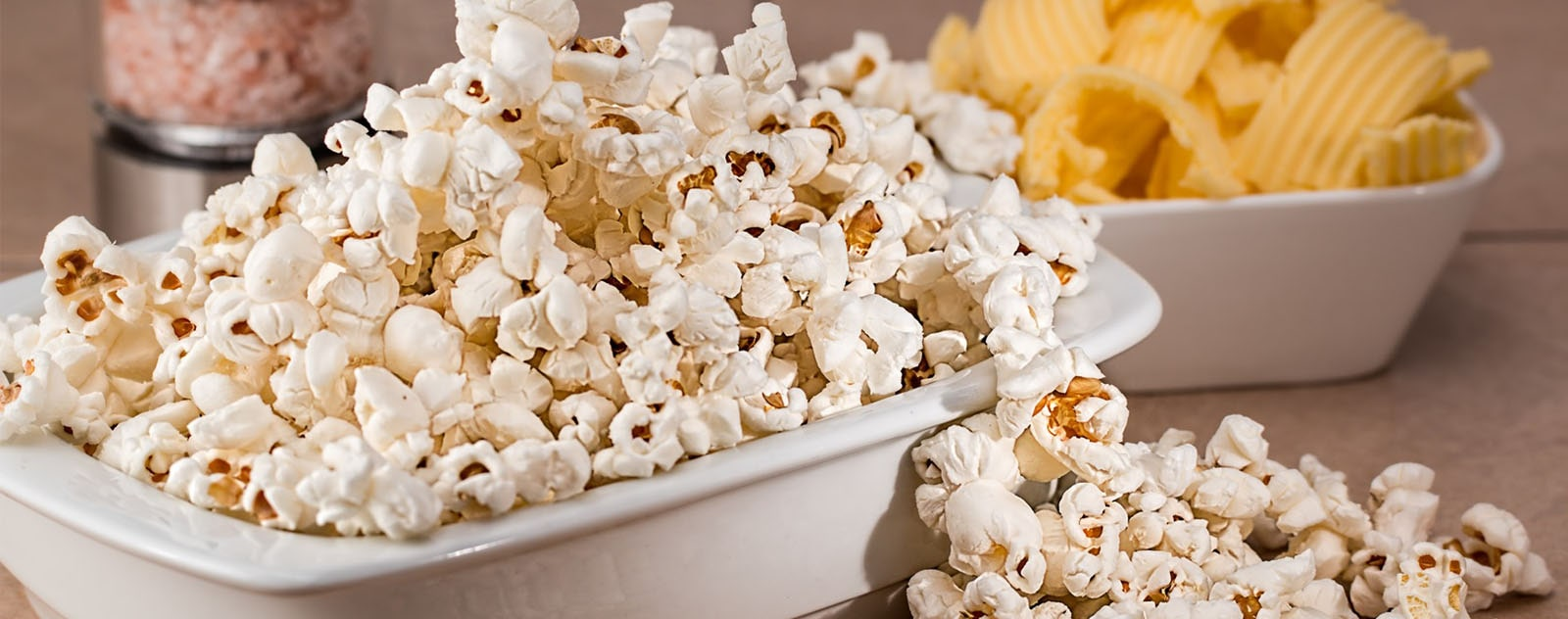 pop-corn salé