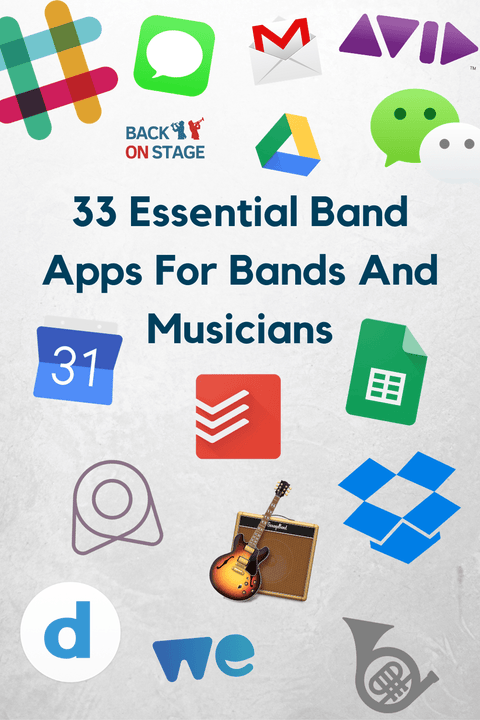Band app and musician app choices