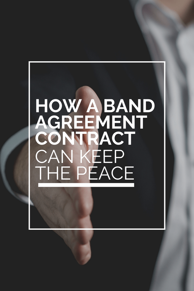 band member contract - keep your band members happy