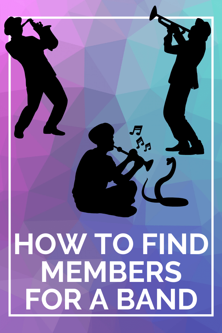 how to find members for band