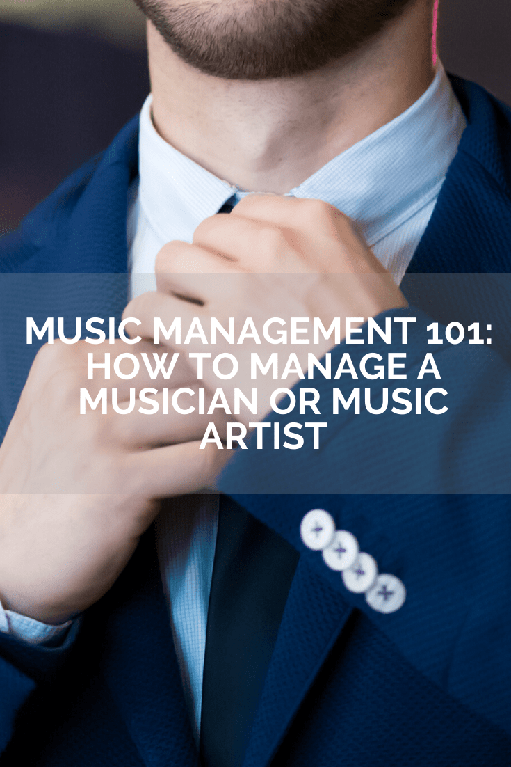 how to manage a music artist