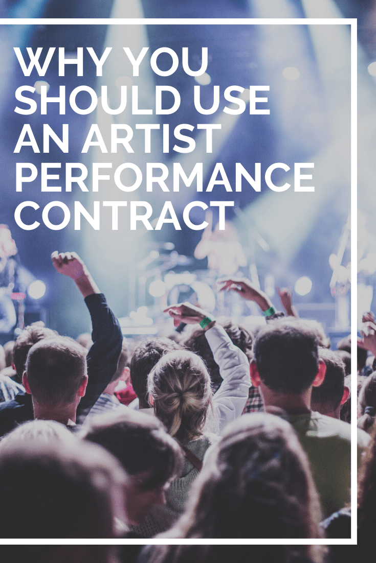 artist performance contract