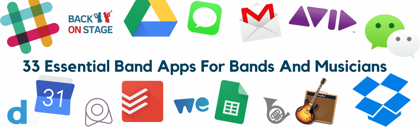 Best Band Apps for Bands and Musicians