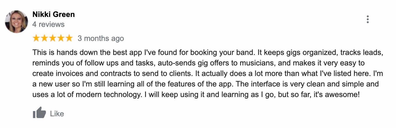 back on stage app review 1