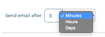 email timer