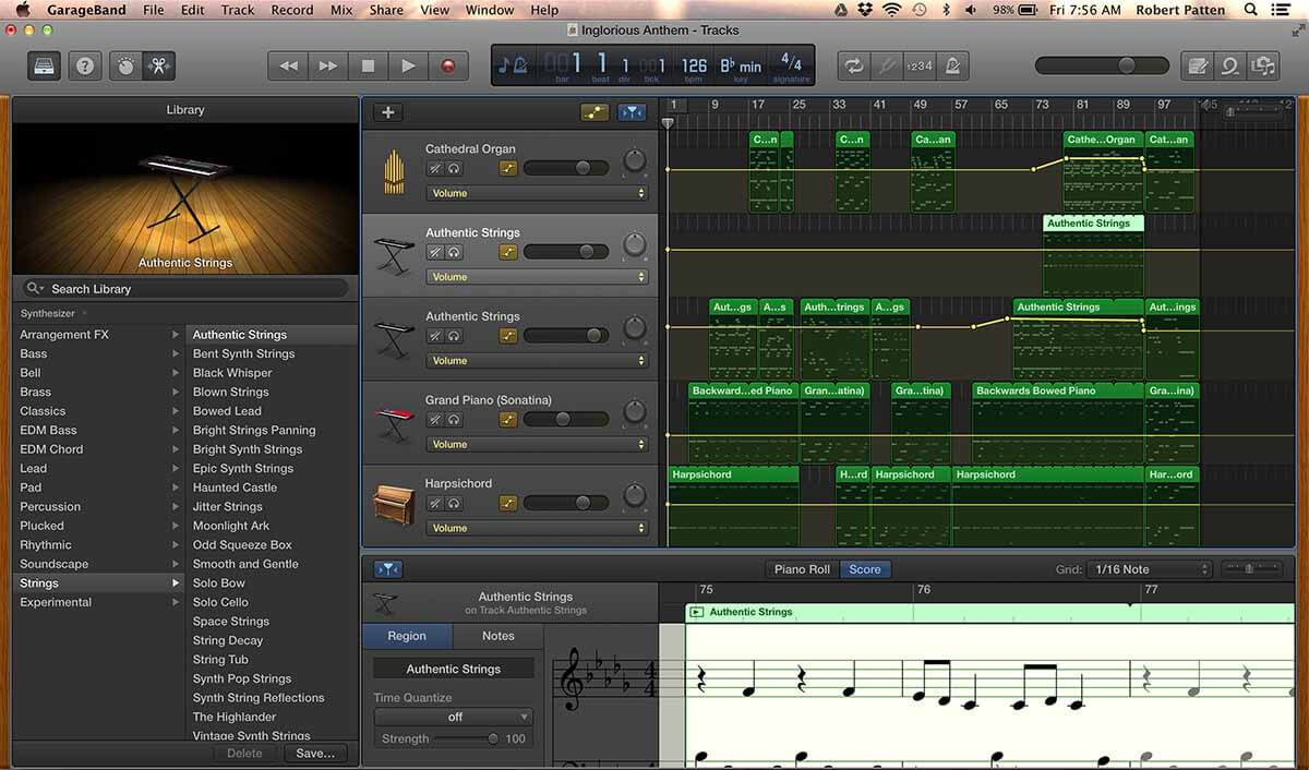 Garageband app for mac - among the best band apps for recording music