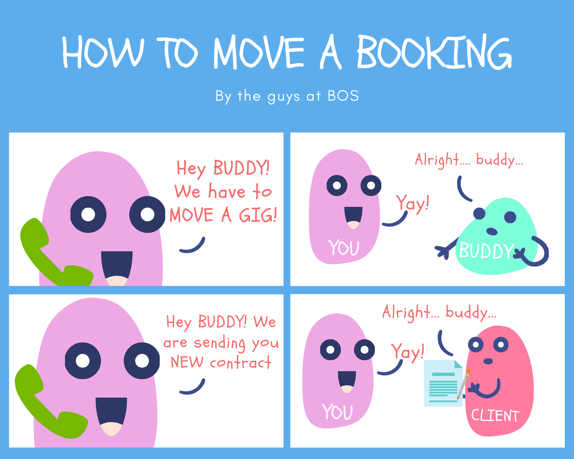 How to move a booking