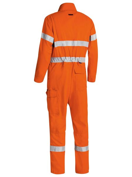 Bisley  Tencate Tecasafe® Plus 700 Taped Hi Vis Engineered Fr Vented Coverall (BC8085T)
