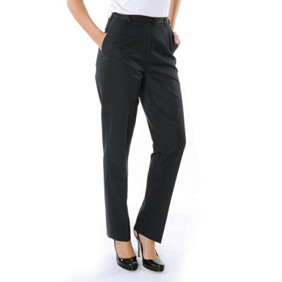 DNC Ladies P/V Flat Front Pants (4552)