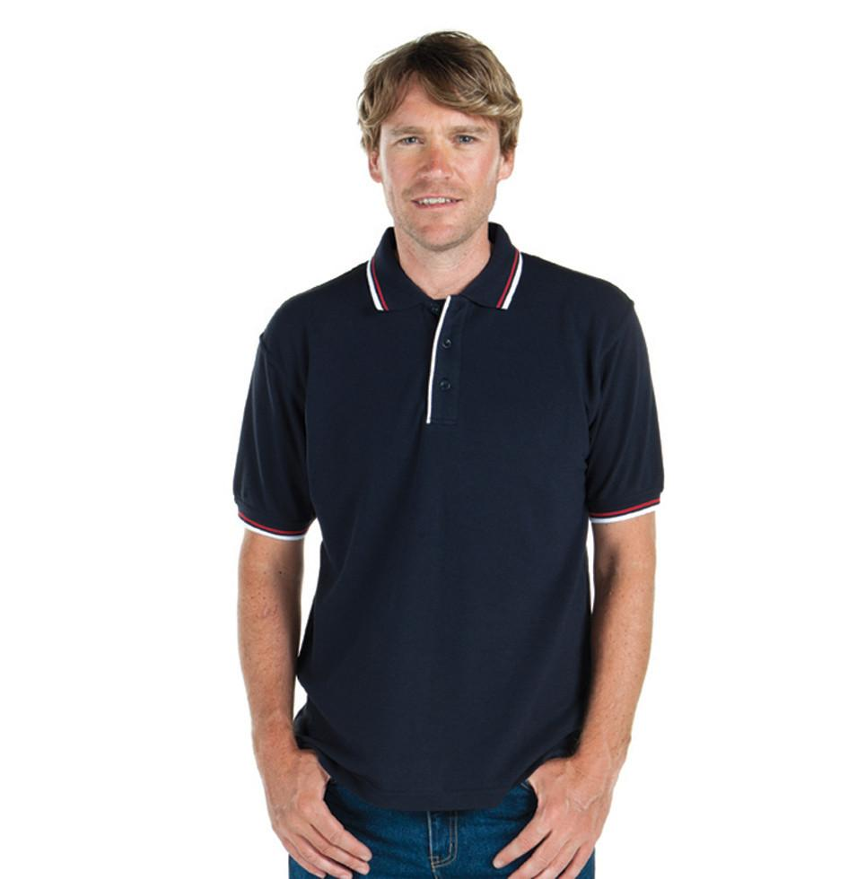 Jb's Double Contrast Polo - Adults (2DC)