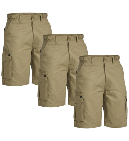 Bisley 8 Pocket Cargo Short BSHC1007-1 (Pack of 3)