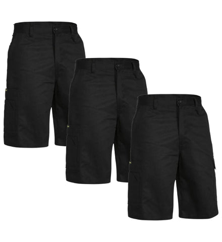 Bisley Cool Lightweight Utility Short BSH1999-1 (Pack of 3)
