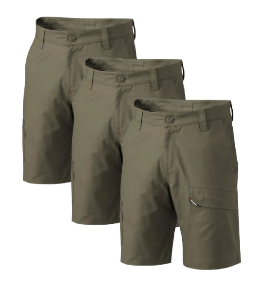KingGee Workcool 2 Shorts K17820-1 (Pack of 3)