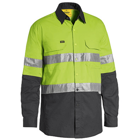 Bisley 3m Taped Hi Vis X Airflow™ Ripstop Shirt-(BS6415T)