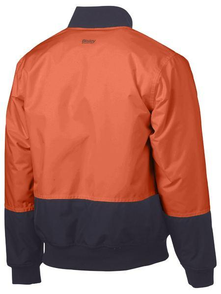Bisley Two Tone Hi Vis Bomber Jacket (BJ6730)