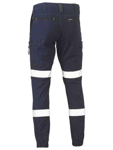 Bisley Flex And Move™ Taped Stretch Cargo Cuffed Pants (BPC6334T)