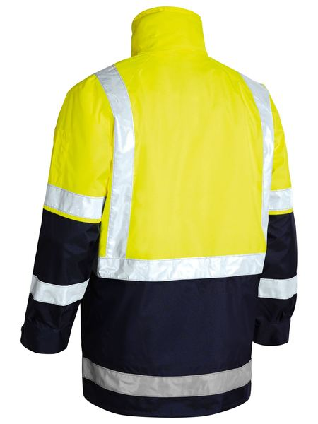Bisley 5 In 1 Rain Jacket-(BK6975)