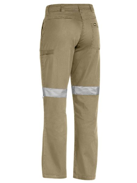 Bisley Women's 3m Taped Cool Vented Light Weight Pant(BPL6431T)