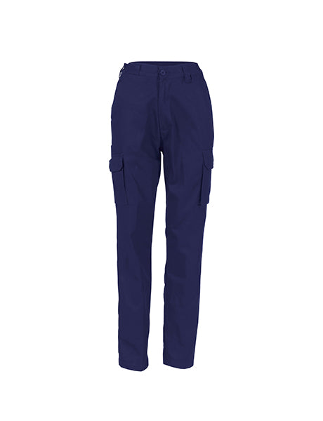 DNC Ladies Cotton Drill Cargo Pants (3322)