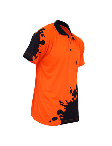 DNC Hivis Sublimated Blot  Polo (3567)