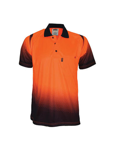 DNC Ocean Hi ViS Sublimated Polo (3568)