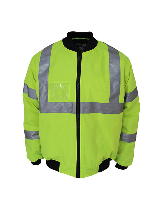 "Dnc HiVis ""X"" back flying jacket Biomotion tape (3763)"