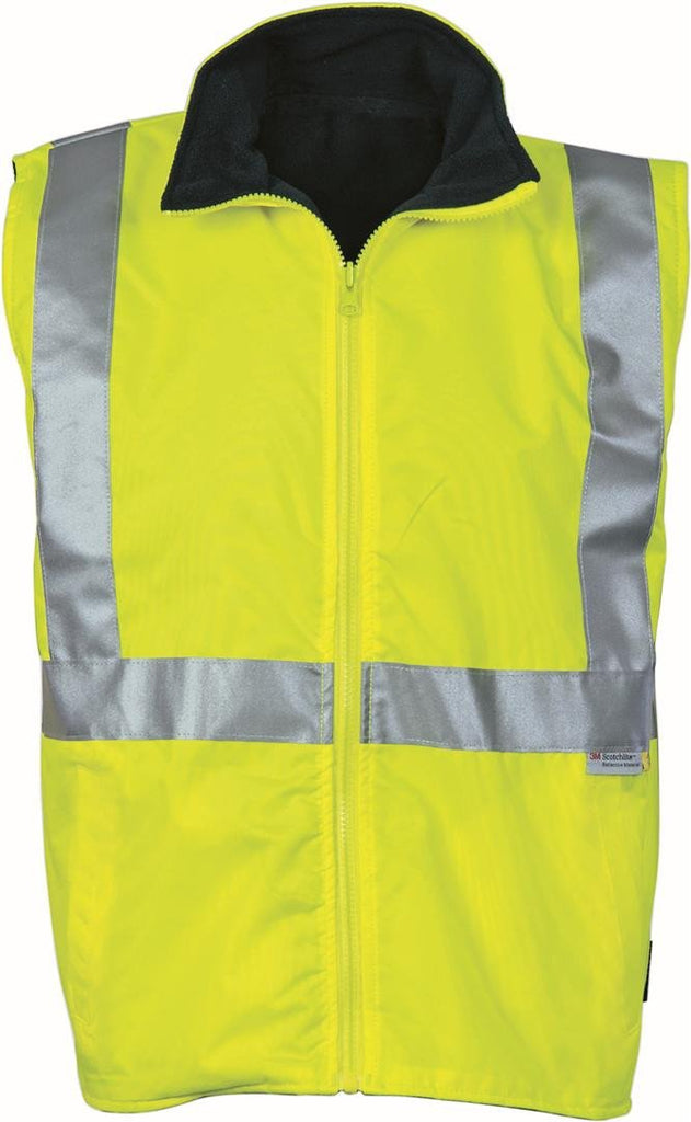 DNC HiVis Reversible Vest and 3M R/Tape (3865)