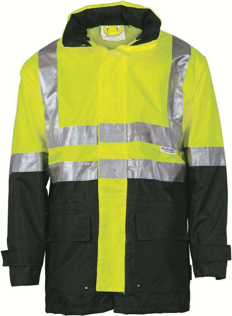 DNC HiVis Two Tone Breathable Jacket with 3M R/Tape (3867)