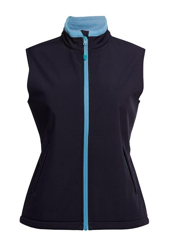 Jb's  Podium Ladies Water Resistant Softshell Vest (3WSV1)