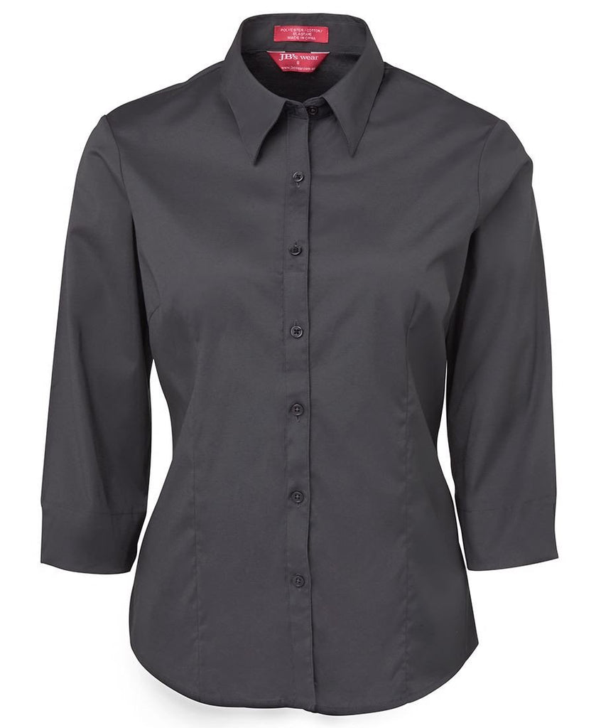 JB's Ladies Urban 3/4 Poplin Shirt (4PLU3)