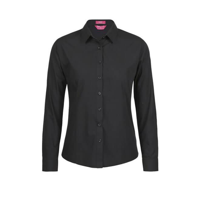 Jb's Ladies Classic L/S Poplin Shirt (4PS1L)