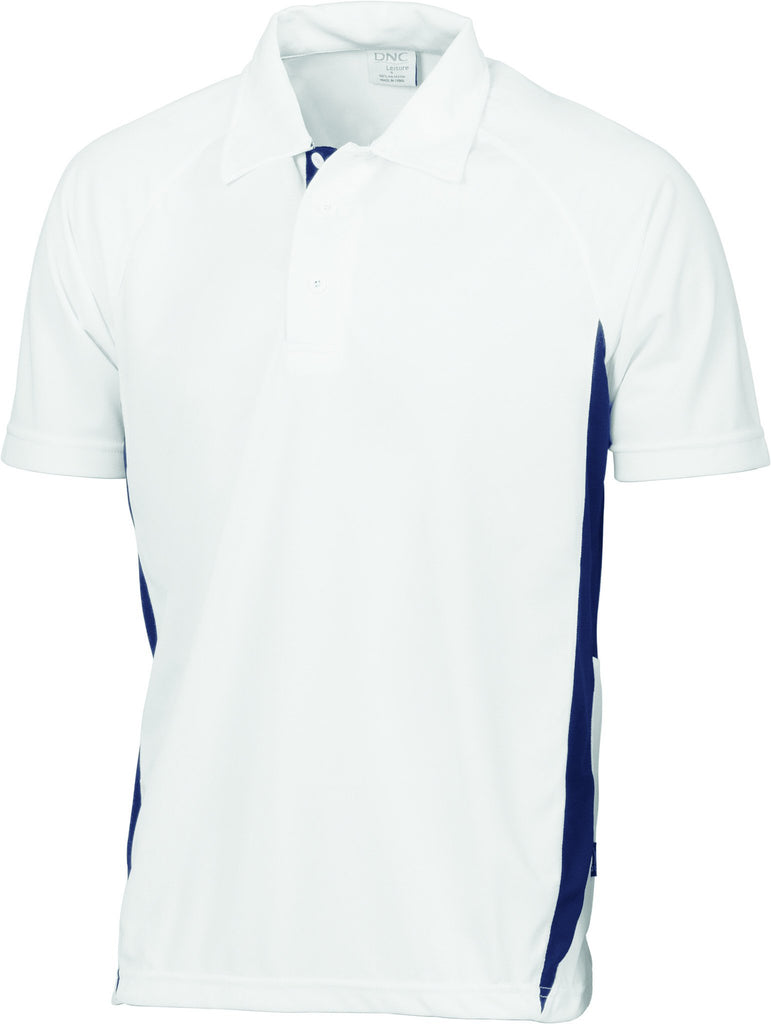DNC Adult Cool-breathe Contrast Polo (5221)