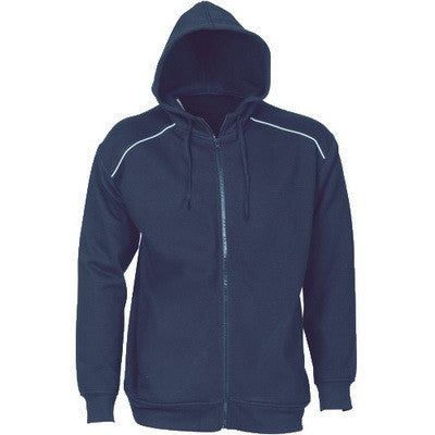 DNC Mens Contrast Piping Fleecy Hoodie (5422)