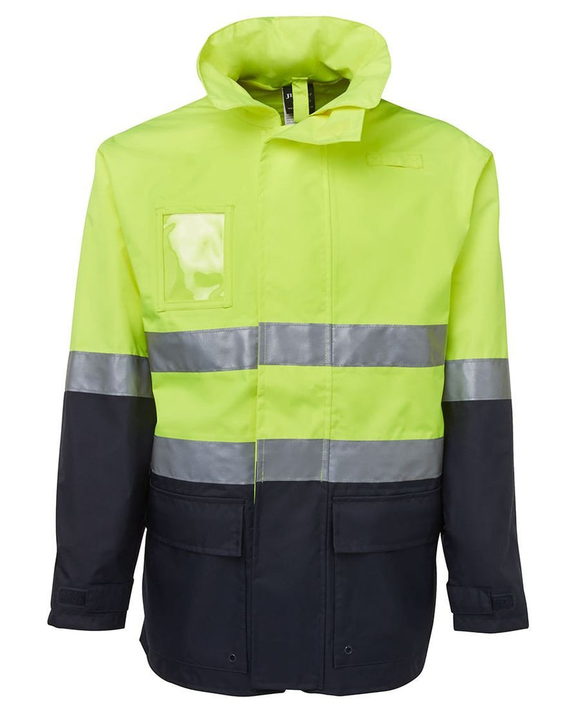 JB's Hi Vis (D+N) Long Line Jacket - Adults (6DNLL)
