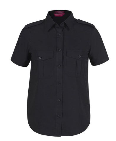 JB's Ladies Epaulette Shirt S/S (6ESS1)