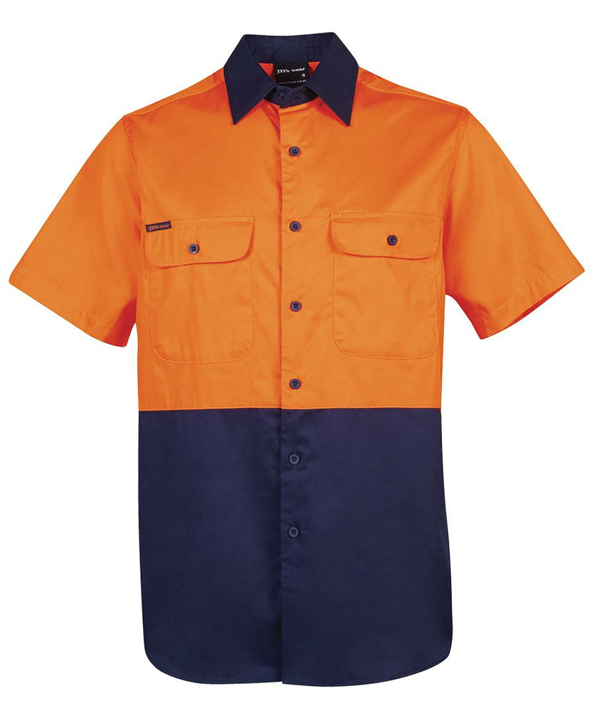 Jb's Hi Vis Short Sleeve 150g Shirt - Adults (6HWSS)