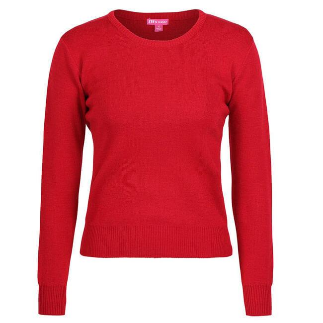 JB's Ladies Corporate Crew Neck Jumper (6J1CN)