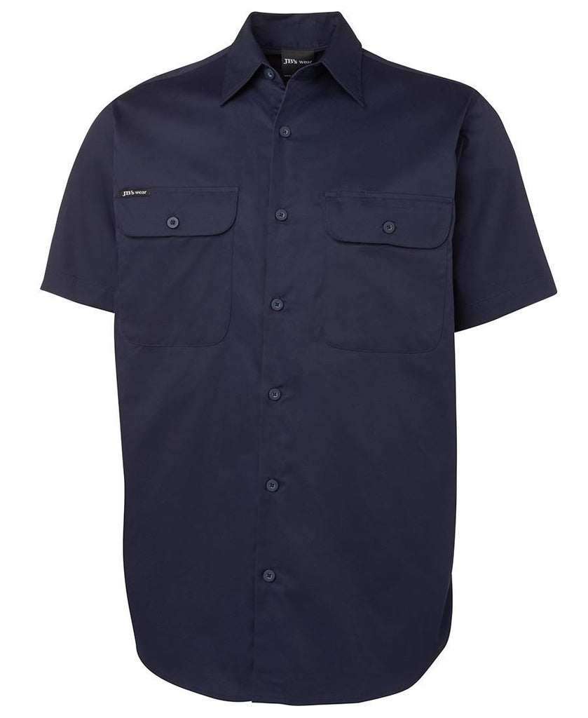Jb's Short Sleeve 150g Work Shirt (6WSLS)