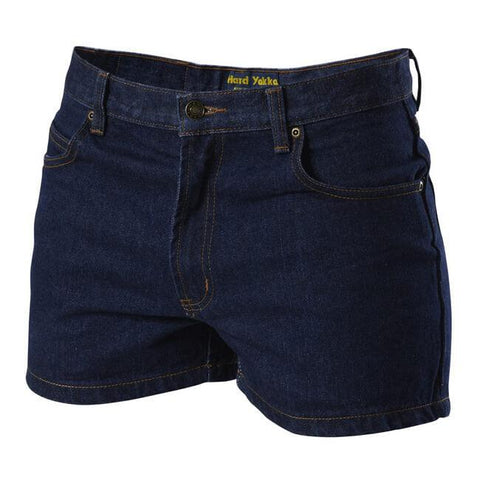Hard Yakka  Enzyme Washed Denim Short