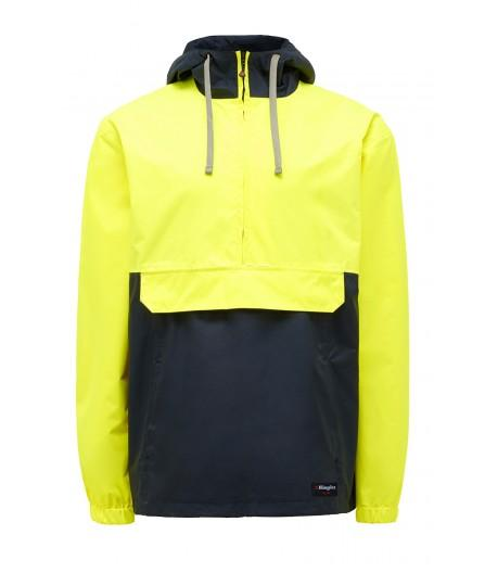 King Gee Hi Vis Hooded Pull Over Jacket (K55052)