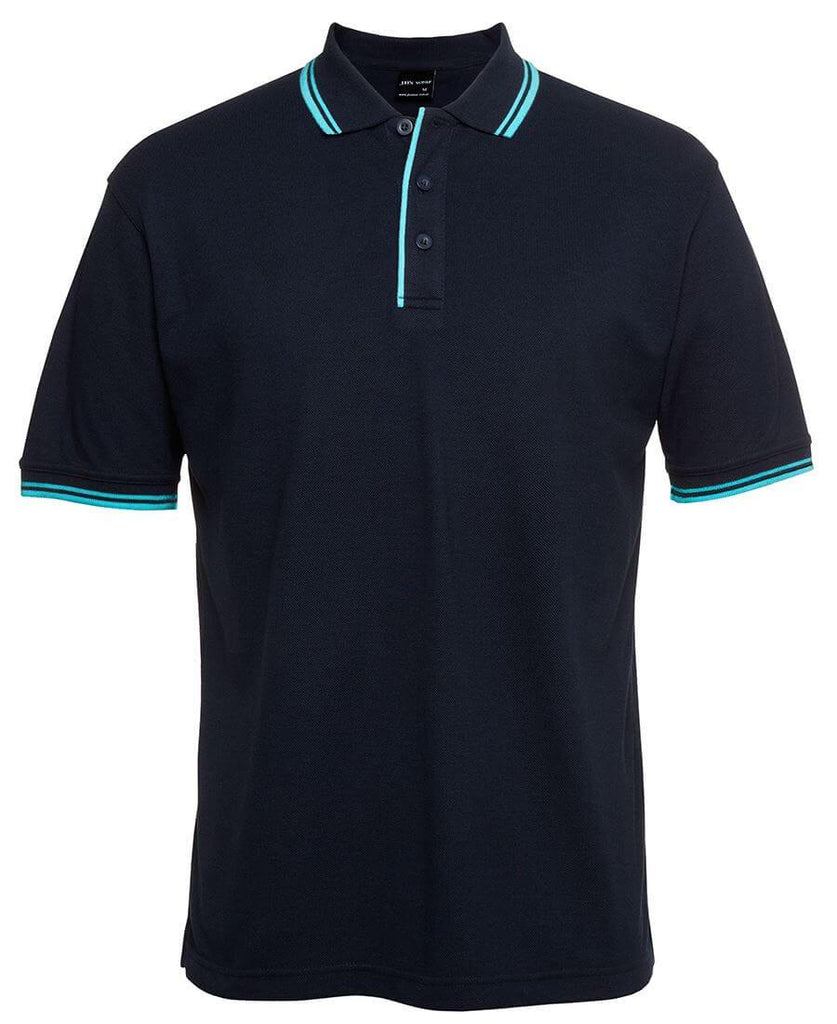Jb's Contrast Polo - Adults 3rd ( 1 Color ) (2CP)
