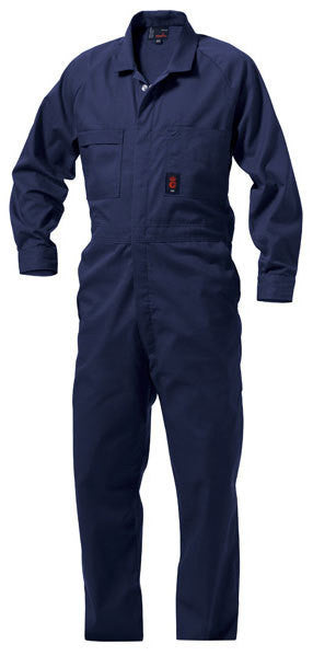 King Gee Wash 'n' Wear Combination Polycotton Overall- 65% Poly/35% Cotton-215gsm (K01190)