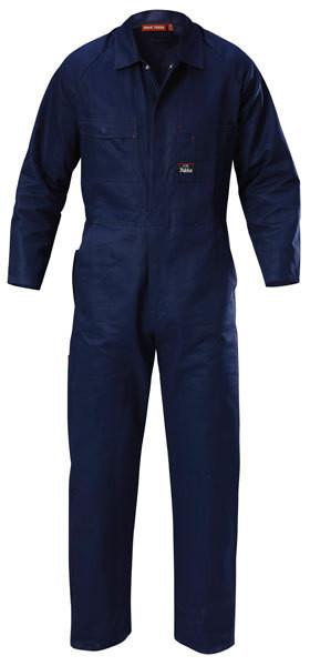 Hard Yakka-Hard Yakka Poly Cotton Coverall-Navy / 28 x 33-Uniform Wholesalers - 4