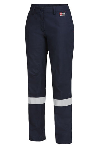 Hard Yakka Womens Shieldtec Fr Flat Front Taped Pant (Y02325)