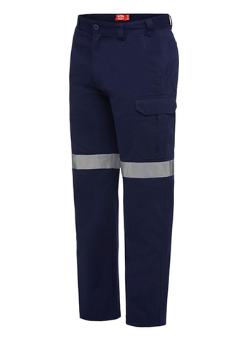 Hard Yakka L/Weight Drill Cargo Pant With Tape (Y02965)