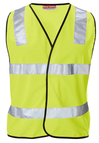 Hard Yakka - Hi Visibility Polyester Vest With 3m Tape (Y21283)